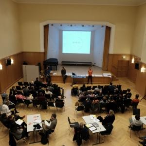 Zukunftsstadt Dresden Workshop X am 5.12.2017. (Foto: Katrin Stephan)