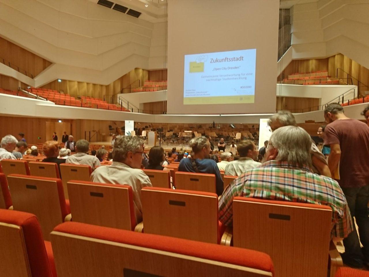 Die Zukunftskonferenz war Teil des Bürgerforums. (Foto: Sven Wernicke)
