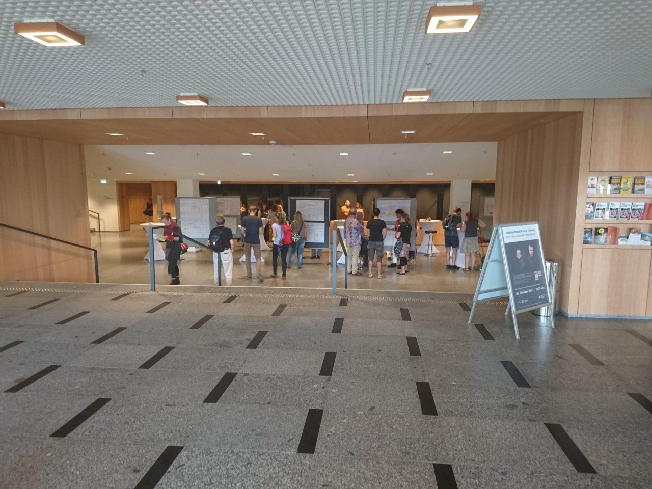 Projekte wurden direkt im Kulturpalast präsentiert. (Foto: Daniel Wendorf)