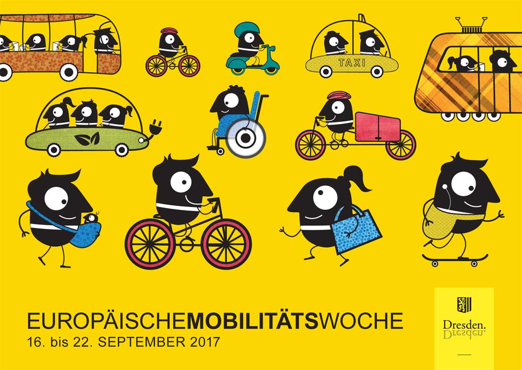 Die Mobilitätswoche. (Foto: Andreas Tampe / Dresden.de)