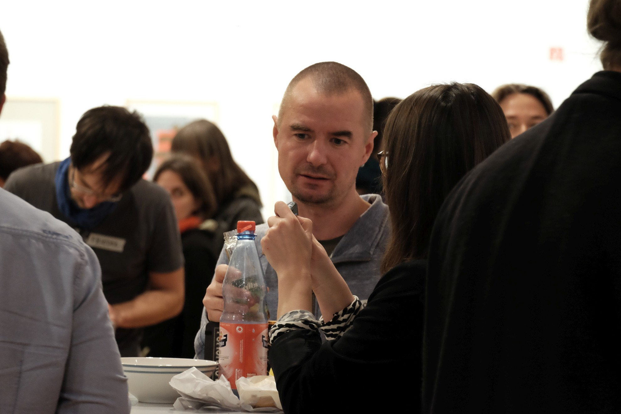 Norbert Rost beim Zukunftsstadt Dresden Workshop X am 5.12.2017. (Foto: Katrin Stephan)