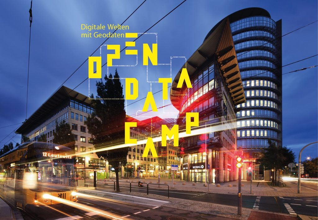 "Open Data Camp 2019: ""Digitale Welten"" mit Geodaten"