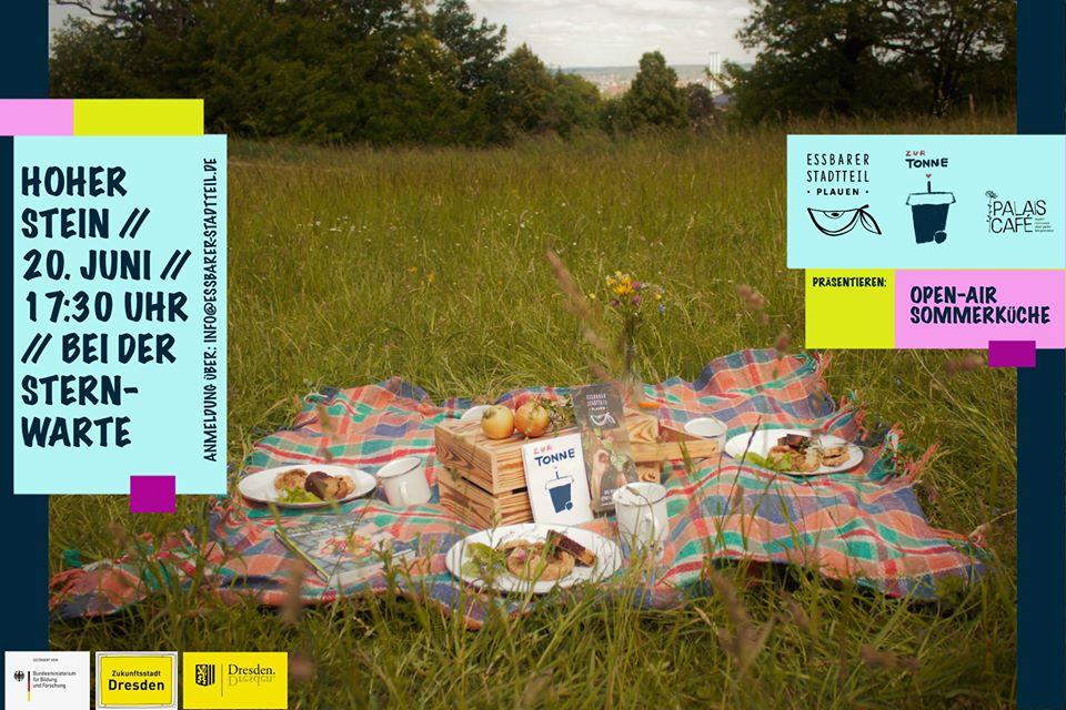 Picknick am Hohen Stein am 20. Juni