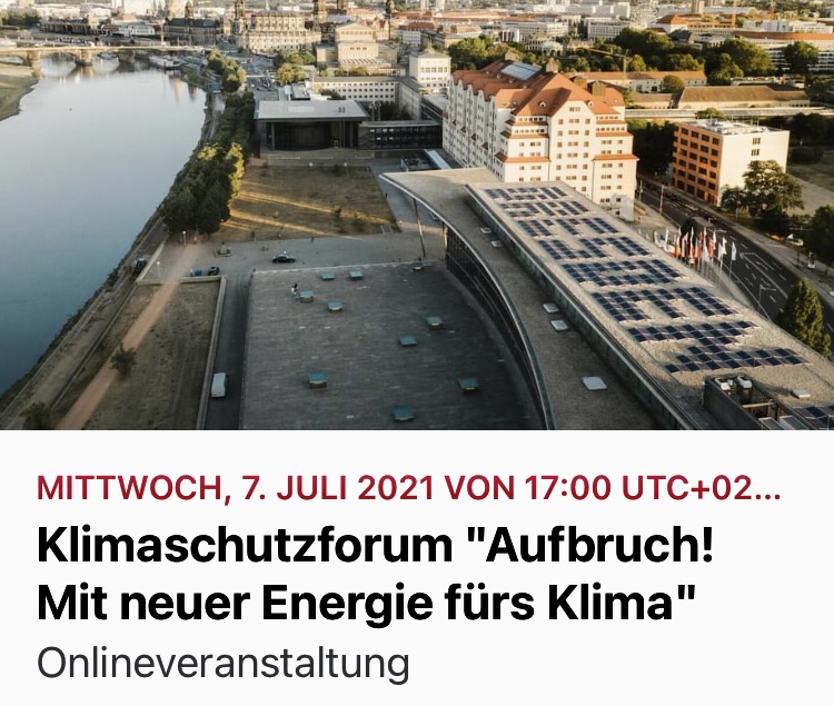 """Klimaschutzforum """"Aufbruch! Mit neuer Energie fürs Klima"""""""