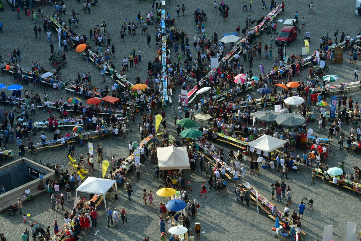 Zu Tisch beim Goldenen Reiter – 5. Gastmahl der Weltoffenheit in Dresden
