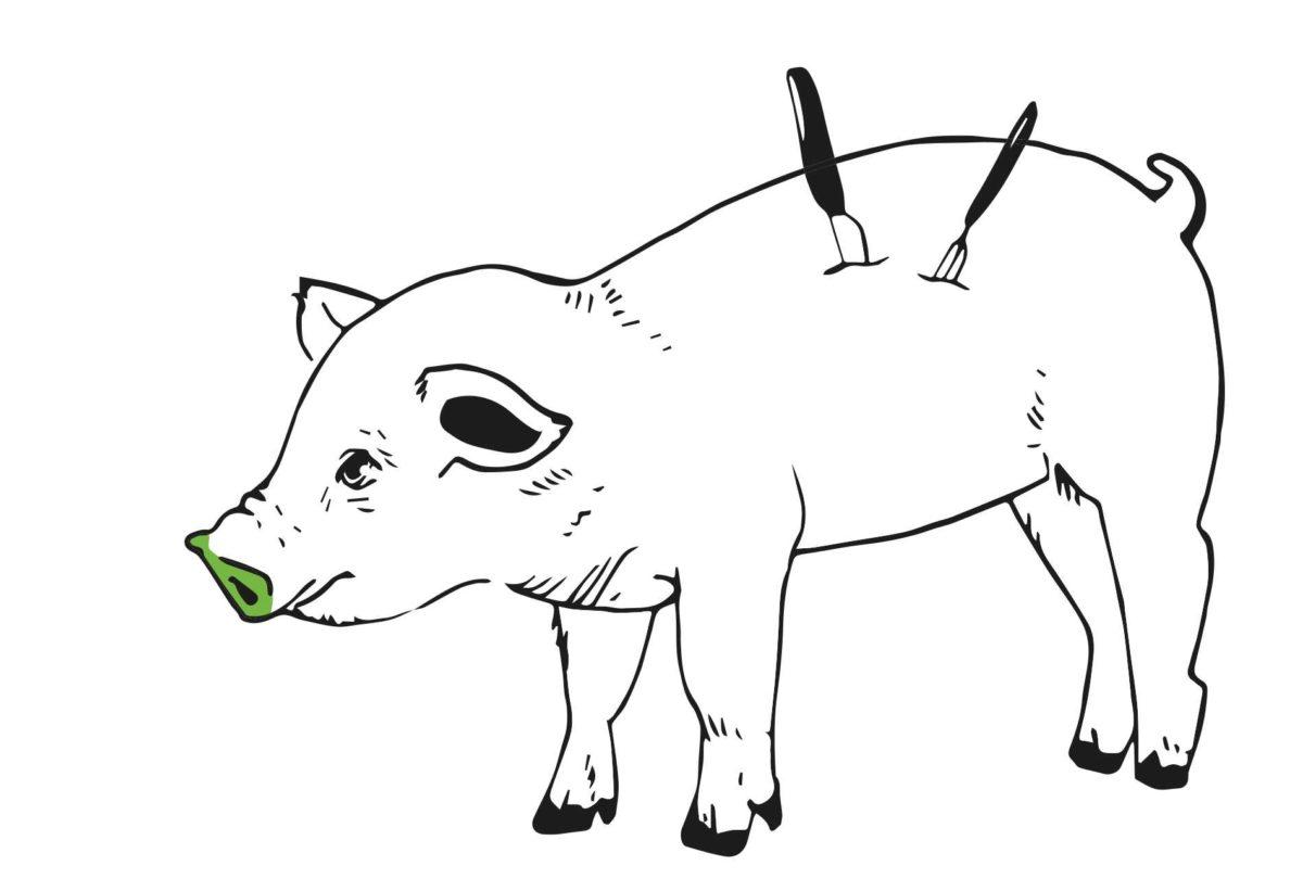 """tjg-Premiere """"Tiere essen"""" – eine Inszenierung mit """"Nachhaltigkeit unternehmen!"""""""