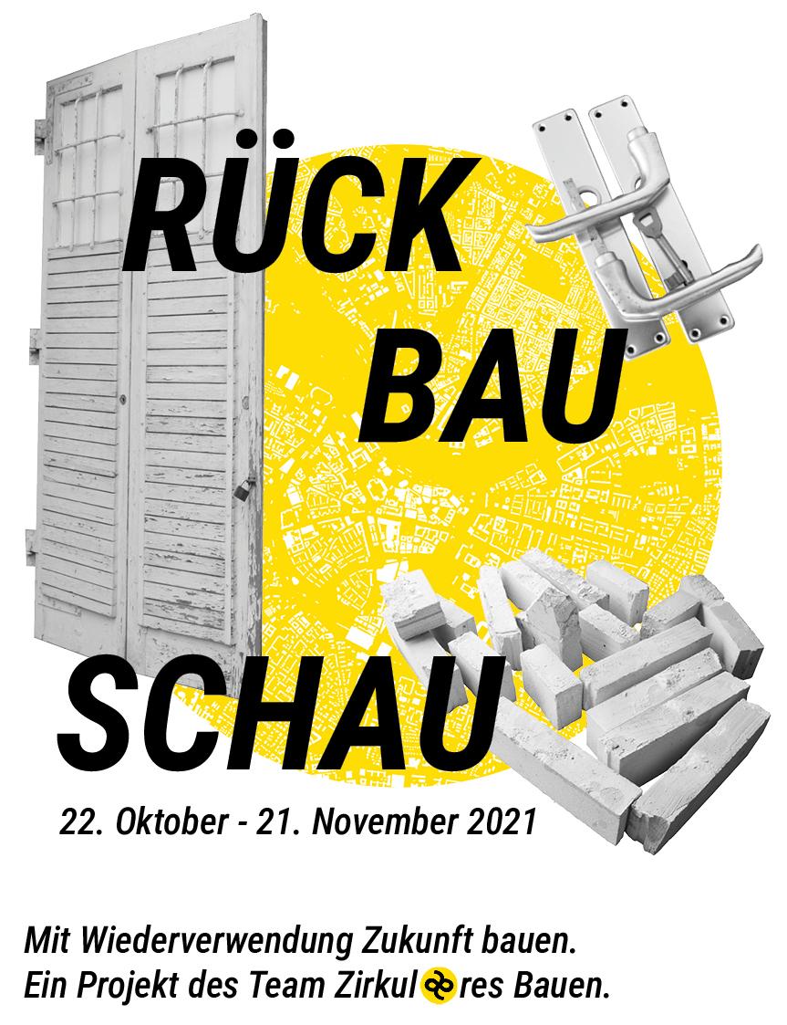 RÜCK-BAU-SCHAU – mit Wiederverwendung Zukunft bauen